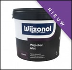 Wijzotex mat binnenlatex, 10 liter emmer
